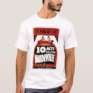 ボードビルオールスター1938 WPA Tシャツ