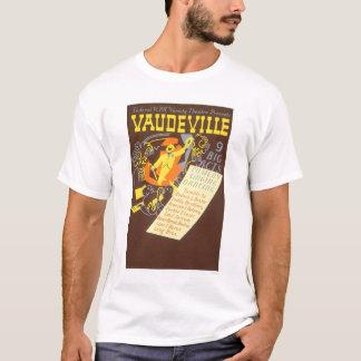 ボードビル9つの大きい行為1937 WPA Tシャツ