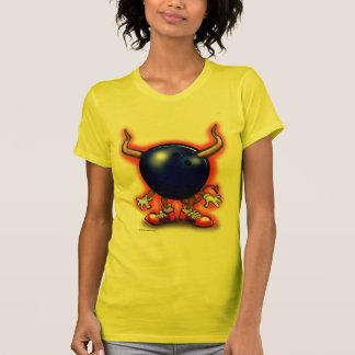 ボーリングの鬼 Tシャツ