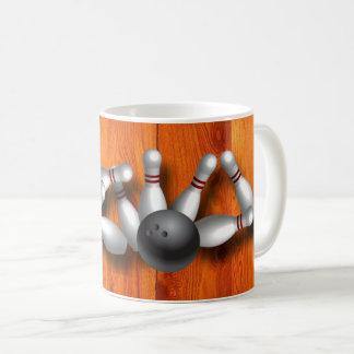 ボーリングをすること コーヒーマグカップ