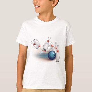ボーリングをすること Tシャツ