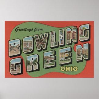 ボーリング・グリーン、オハイオ州-大きい手紙場面 ポスター