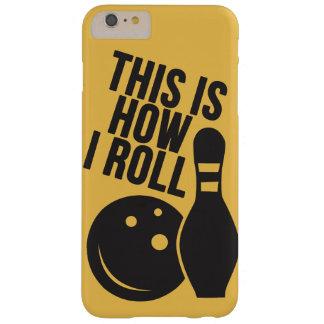 ボーリング・ボールおよびピン。 私はボーリングをすることを愛します スリム iPhone 6 PLUS ケース
