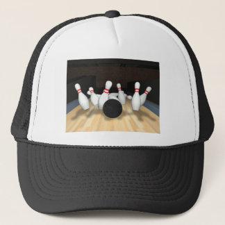 ボーリング・ボール及びピン: 3Dモデル: キャップ