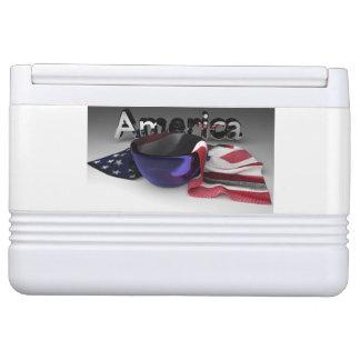 ボールの米国旗 クールボックス