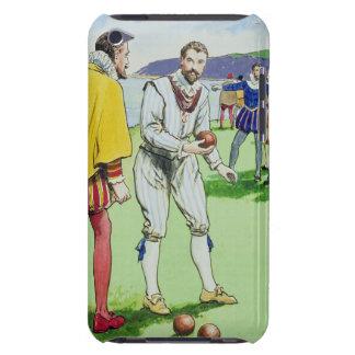 ボールを、から遊んでいるフランシス・ドレーク(1540/3-96) Case-Mate iPod TOUCH ケース