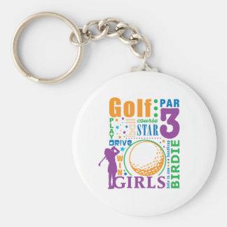 ボーンのゴルフ キーホルダー