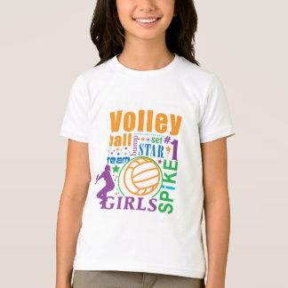 ボーンのバレーボール Tシャツ