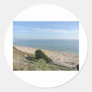 ボーンマスのビーチ ラウンドシール