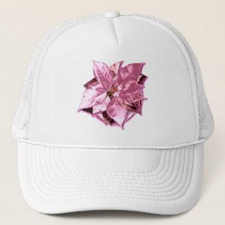 ポインセチアのバラの上品の帽子 キャップ
