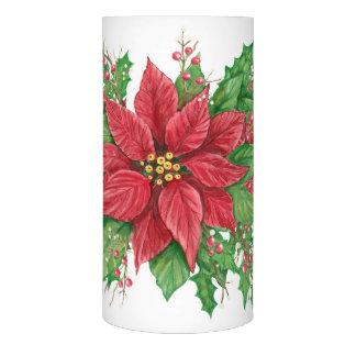 ポインセチアLEDのクリスマスの蝋燭 LEDキャンドル
