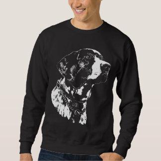 ポインター犬のスエットシャツのドイツのポインター犬のワイシャツ スウェットシャツ