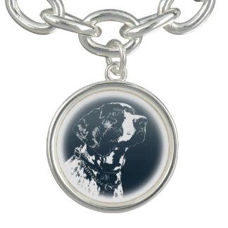 ポインター犬のブレスレット犬の恋人のジュエリー犬のギフト チャームブレスレット