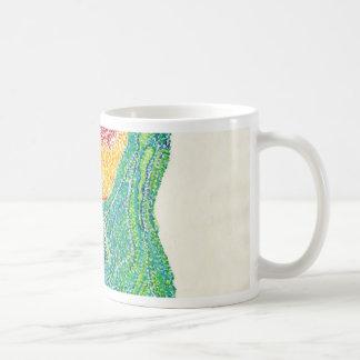 ポイントのポートレート コーヒーマグカップ