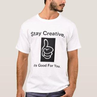 ポイントへのシンプルおよび Tシャツ