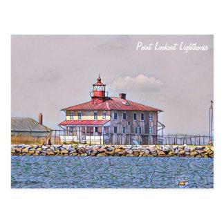 ポイント眺望の灯台郵便はがき ポストカード