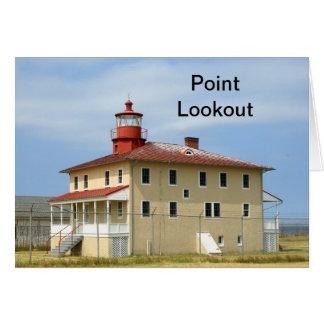ポイント眺望の灯台 グリーティングカード