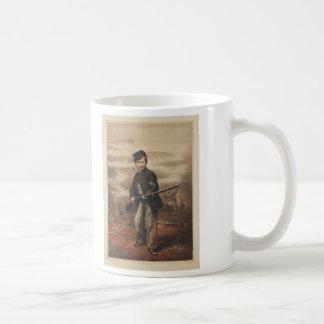 ポイント眺望の連合ドラマーの男の子ジョンClem コーヒーマグカップ