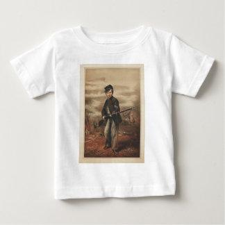 ポイント眺望の連合ドラマーの男の子ジョンClem ベビーTシャツ