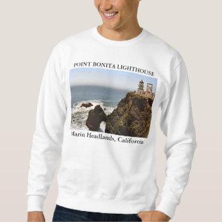 ポイントBonitaの灯台、カリフォルニア スウェットシャツ
