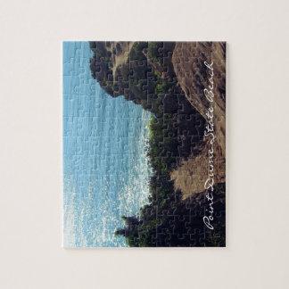 ポイントDumeの州ビーチ、マリブ、カリフォルニア ジグソーパズル