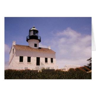 ポイントLoma灯台、サンディエゴ、カリフォルニア カード