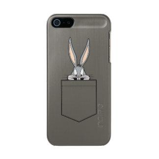 ポケットからかいま見るバッグス・バニーの™ メタリックiPhone SE/5/5sケース