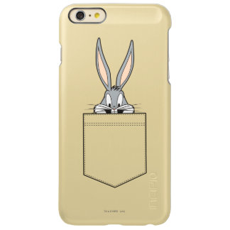 ポケットからかいま見るバッグス・バニーの™ INCIPIO FEATHER SHINE iPhone 6 PLUSケース