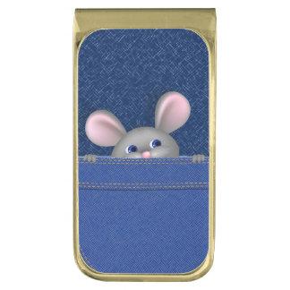 ポケットのマウス ゴールド マネークリップ