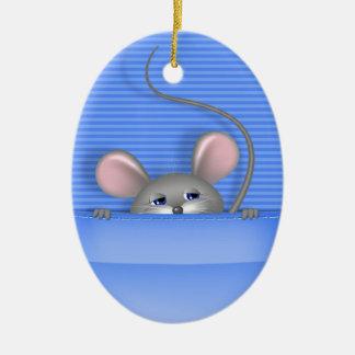 ポケットのマウス セラミックオーナメント