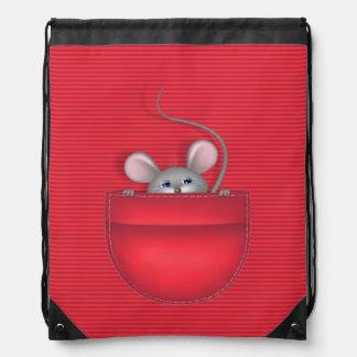 ポケットのマウス ナップサック