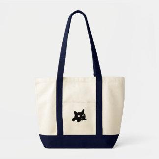 ポケット猫 トートバッグ