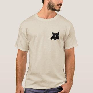 ポケット猫 Tシャツ