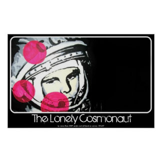 ポスターの孤独な宇宙飛行士の絵画 ポスター