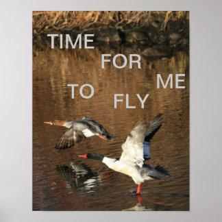 ポスターを飛ばす私の時間 ポスター