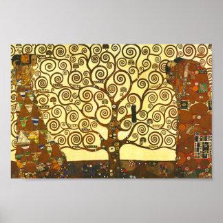 ポスターグスタフのクリムトの生命の樹 ポスター