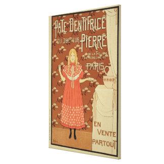 ポスター広告のの再生「ピーター博士 キャンバスプリント