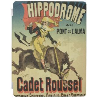 ポスター広告のの再生「士官候補生Rousse iPadスマートカバー