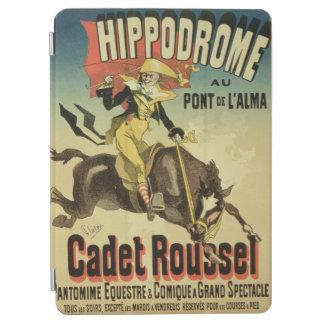ポスター広告のの再生「士官候補生Rousse iPad Air カバー