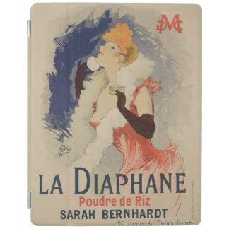 ポスター広告のの再生「La Diaphane iPadスマートカバー