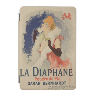 ポスター広告のの再生「La Diaphane iPad Miniカバー