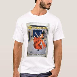ポスター広告「スカートのダンサー」、行われたb tシャツ