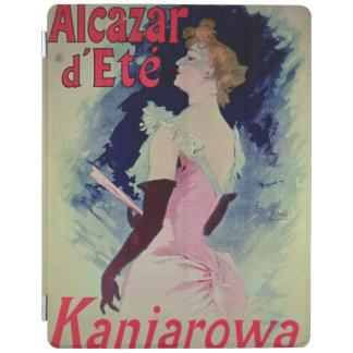 """ポスター広告""""Alcazar d'Ete """" iPadスマートカバー"""