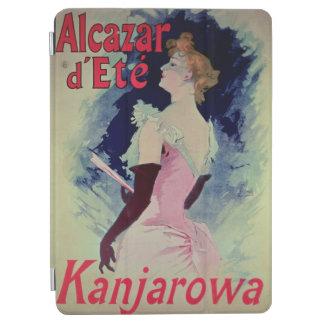 """ポスター広告""""Alcazar d'Ete """" iPad Air カバー"""