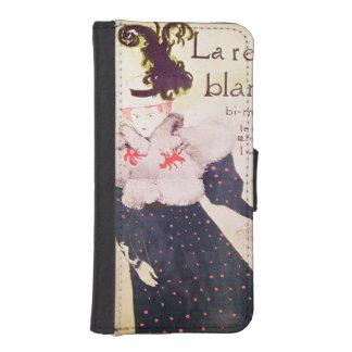 ポスター広告「LaレビューBlanche」の、1895年 iPhoneSE/5/5sウォレットケース