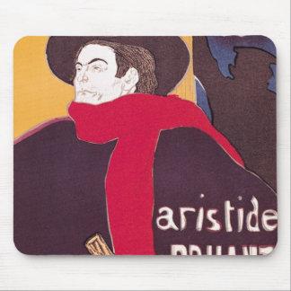 ポスター広告Aristide Bruant マウスパッド