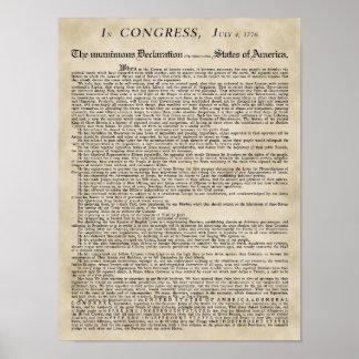 ポスター独立宣言 ポスター