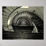 ポスター眩暈- CurriのSprialの階段… ポスター