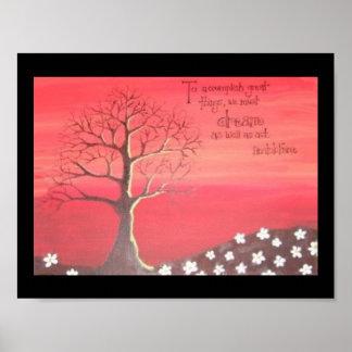 ポスター: 秋のテーマの絵画 ポスター