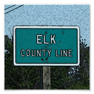ポスター: Elk郡、カンザス ポスター